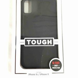 Tough Matte Black iPhone Xs/ X Case - Case-Mate